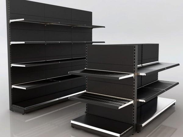 Scaffali negozio usati for Compro mobili milano